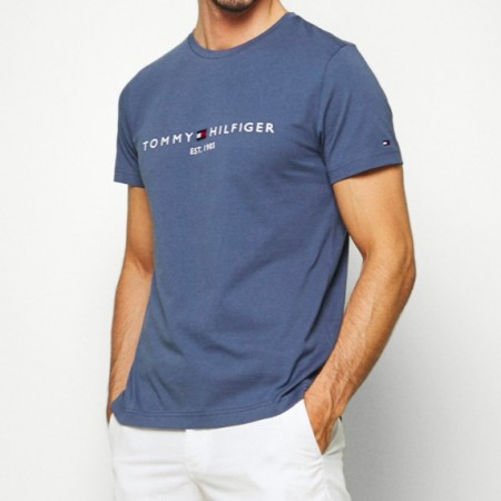 Tommy Hilfiger - Tommy Logo Tee / Faded blue