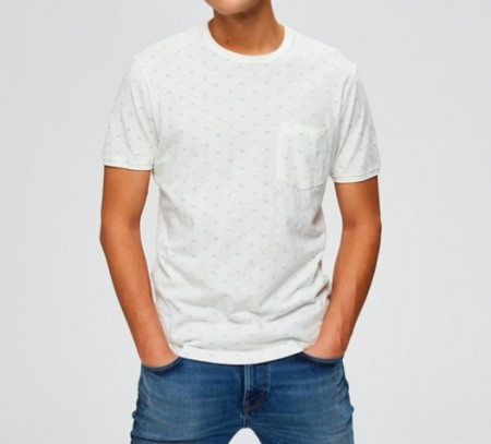 Selected Homme - Ulrik tee / Hvit
