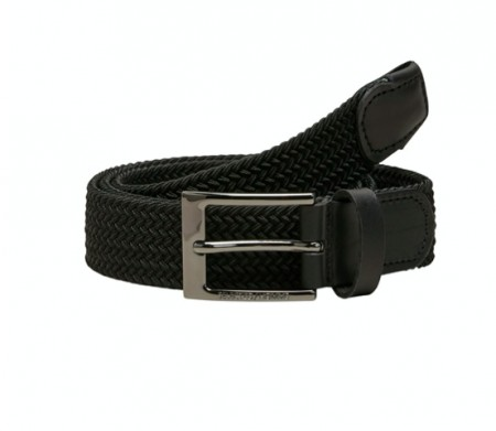Selected Homme - Alex webbing belt / Black