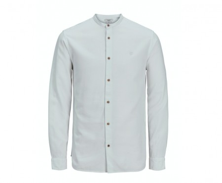 Jack & Jones - Blabaker band shirt / White
