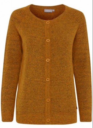 Fransa - Fremally 3 Cardigan / Rust