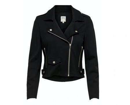 Only - Poptrash biker jacket / Black