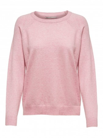 Only - Lesly Kings l/s pullover / rosa