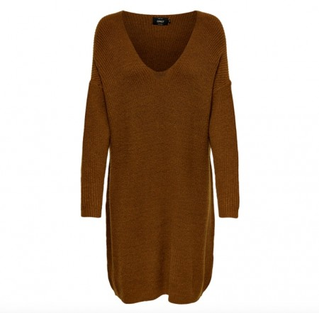 Only - Cathlene l/s dress / Rust